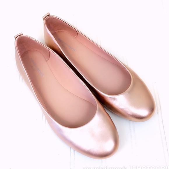 1c8b1396e850 Easy Spirit Shoes - Easy Spirit GetCity metallic rose gold pink flats